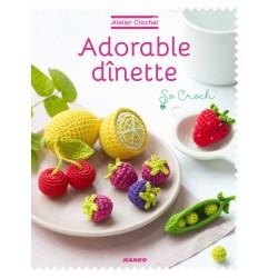 Book FR - Adorable dinette - Atelier crochet