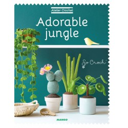 Book FR - Adorable jungle - Atelier Crochet