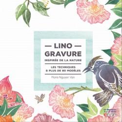 Book FR - Linogravure inspire de la nature