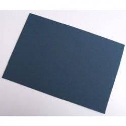 Rubber 29x20cm P/10 marineblauw