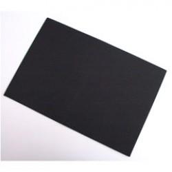 Rubber 29x20cm zwart P/10
