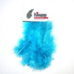 Marabu feathers turquoise