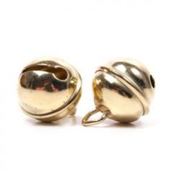 Metalen bel 19mm P/10 goud