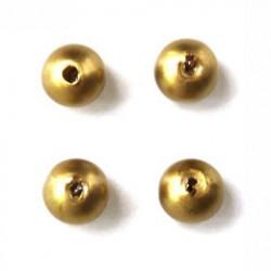 Wasparel 6mm mat goud 8g