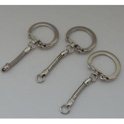 Sleutelhanger P/10 zilver