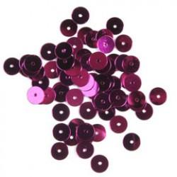 Pailletten 6mm P/500 roze