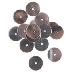 Pailletten 10mm P/150 zilver