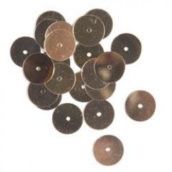 Pailletten 10mm P/150 goud
