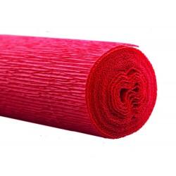 Florist crepe 50x250cm NB rood