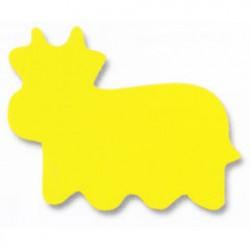 Plakfiguur jumbo koe