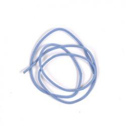 Lederriem 1m lichtblauw P/1