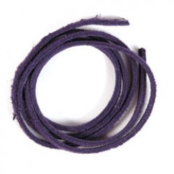 Veloursb 4mmx1m p/10 violet