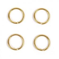 Ring 4mm goud