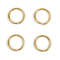 Ring 5mm goud