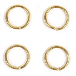 Ring 6.50mm goud