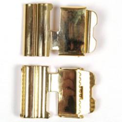 Sluiting ceintuur 3cm goud