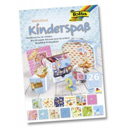 Motiefblok Kinderplezier 26 blad