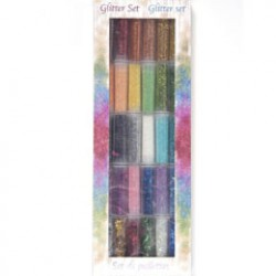 Glitterset 30 kleuren