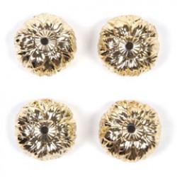Kralen 24x16mm goud