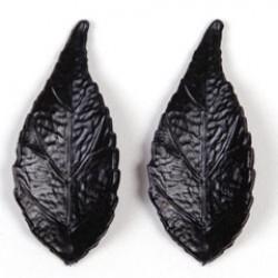 Blaadje 50/22 mat zwart