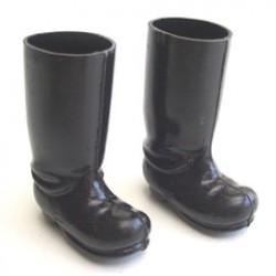 Laarzen zwart 4 cm