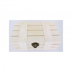 Chest with lath 18x10,5x6,7cm