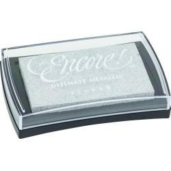 Pigment Stamp Pad 10 x 6cm Silver