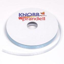 Organza ribbon 6mm x 10m - Sea blue