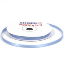 Satin ribbon 6mm x 10m - Light blue