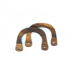 Bag handles wood ''U'' 160x115mm 2pcs