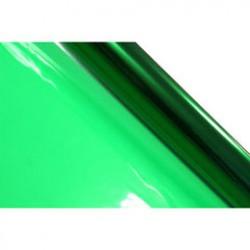 Rol cellofaan 70x500cm kerstgroen