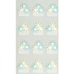 Jolee's Boutique Blue flowers