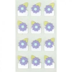 Jolee's Boutique Violet Flowers