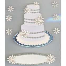 Jolee's Boutique Wedding cake