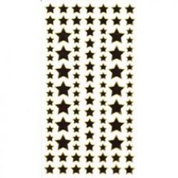 Sticker fun gold stars