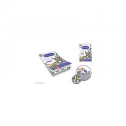 Art Therapy Coloring Book 14.5cmx22cm 100 Designs (A5) Azteca