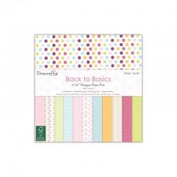 Back to Basics - Bright Spark - 30x30cm paper pad