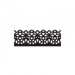 Intrica punch - dotty lace border