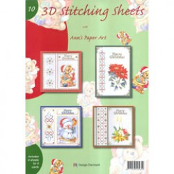 3 D Stitching sheets nr 10