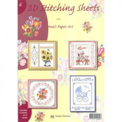 3D Stitching Sheets nr 6