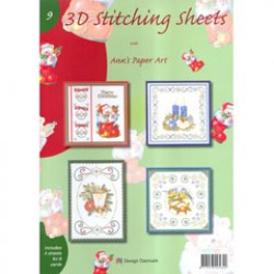 3 D Stitching sheets nr 9