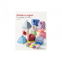 Livre - 30 boîtes en origami